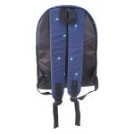UNPS BACKPACK BLACK NAVY 123 B
