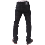 UNPS PANT STD DENIM BLACK 050 BELAKANG