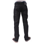 UNPS PANT STD DENIM BLACK 051 BELAKANG