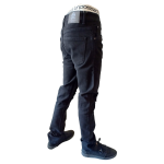 UNPA PANTS DENIM SLIM BLACK 057 B