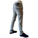 UNPA PANTS DENIM SLIM GREY 059 B