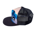 ANYW HAT TRUCKER BLACK 013 B